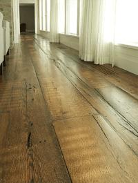 Reclaimed Oak  Woodwrights Wide Plank Flooring