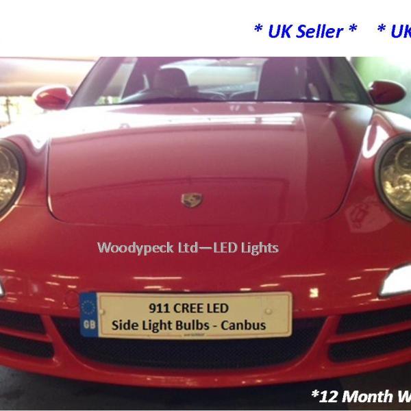 Porsche 996 Headlamp Bulb: Porsche 911 996 T10 501 W5W CANBUS Front Sidelights