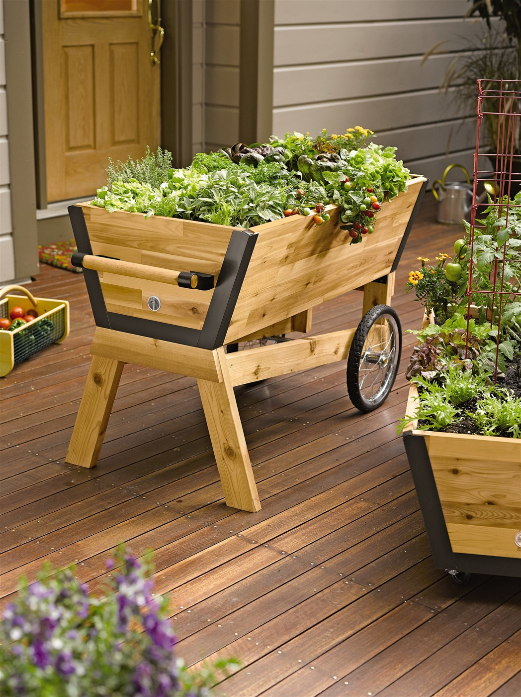 Plant Stands On Wheels Wooden Plant Holders Stands 1 Woodz