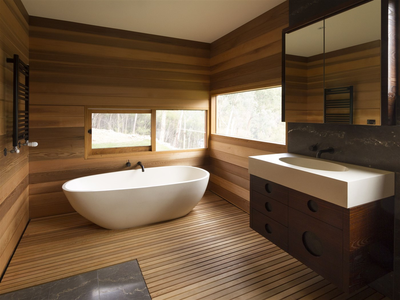 Holz Bad Wooden Bathroom Ideas #1 | Woodz