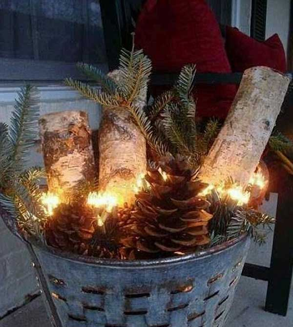 Fensterdekoration Selber Machen 40 Cool Diy Decorating Ideas For Christmas Front Porch