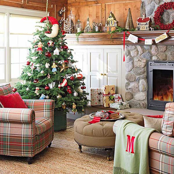 Store Interieur A Motif 25 Creative And Beautiful Christmas Tree Decorating Ideas