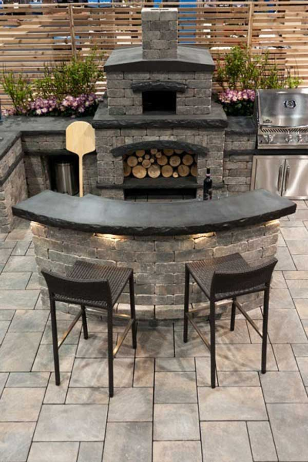 Outdoor Pizza Oven Outdoor Kitchen Ideas Let You Enjoy Your Spare Time