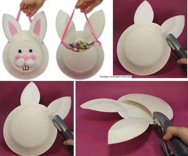Kindergarten Bastelideen 24 Cute And Easy Easter Crafts Kids Can Make