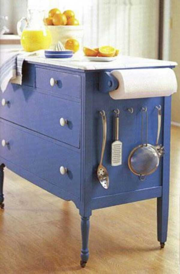 Kitchen Storage Island Cart 32 Simple Rustic Homemade Kitchen Islands