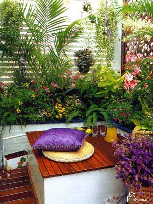 Mini Pool Terrasse 30 Inspiring Small Balcony Garden Ideas
