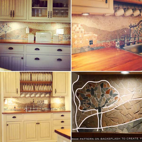cost diy kitchen backsplash ideas tutorials wonderful mosaic kitchen backsplashes