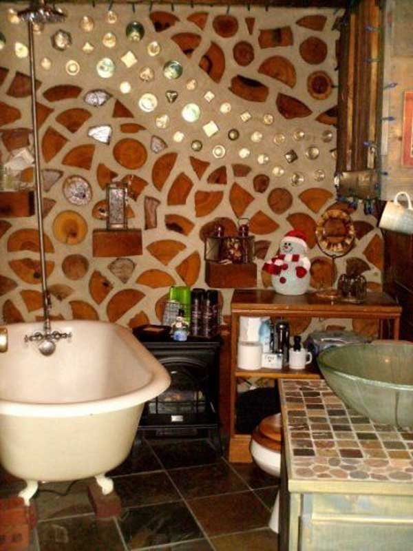 Natural Cordwood Masonry Cabins Amazing Diy Interior