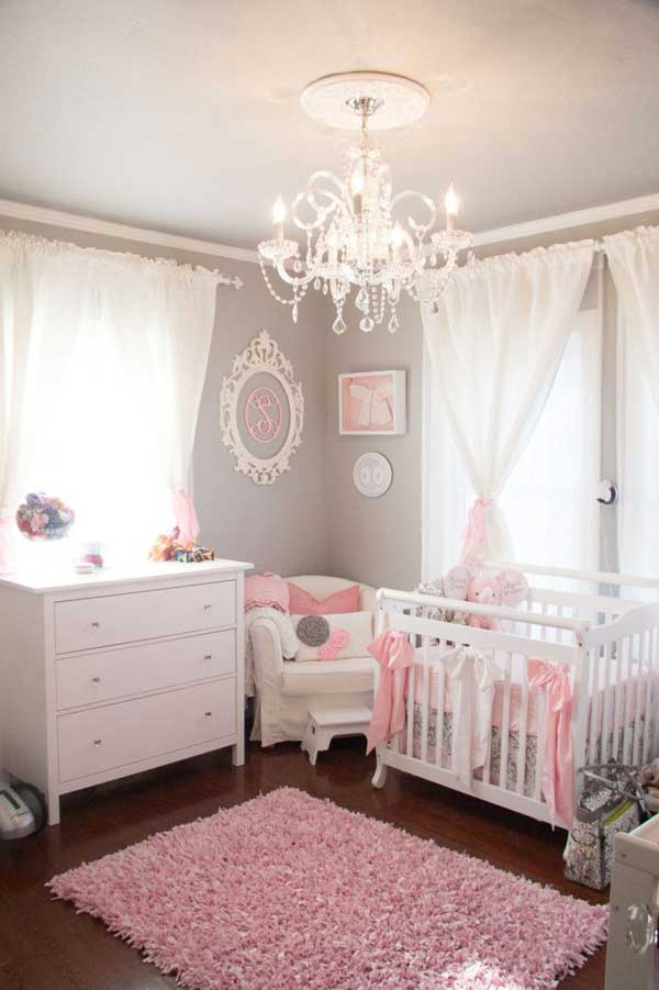 22 Steal Worthy Decorating Ideas For Small Baby Nurseries - Babyzimmer Pinterest