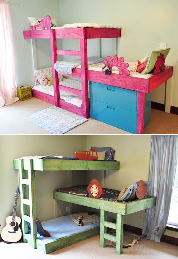 Toddler Bed 26 Cute Ideas To Add Fun To A Child Room - Amazing Diy