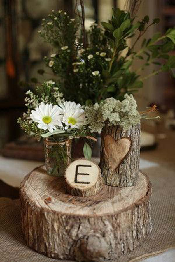 Diy Baby 24 Beautiful Decorative Vases Made From Tree Stump