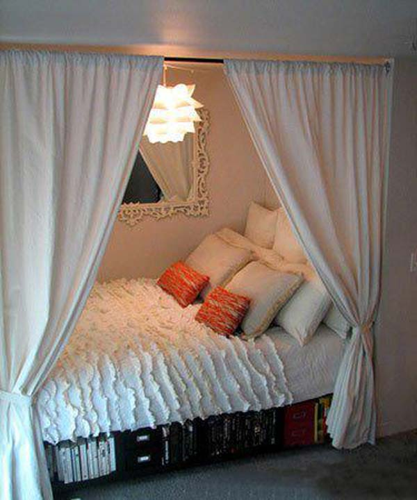 How To Get Into Interior Decorating 22 Charming Alcove Bed Designs That You Must See