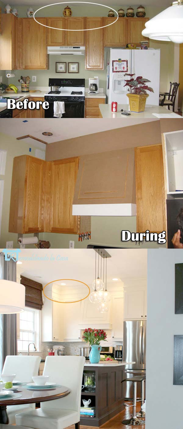 Kitchen Cabinet Decor Ideas 20 Stylish And Budget Friendly Ways To Decorate Above Kitchen Cabinets