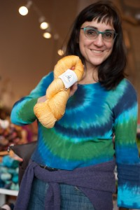 Knitting bee - Rose City Yarn Crawl-6