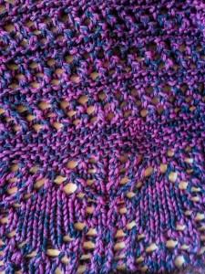 Glam Shell shawl - small-16