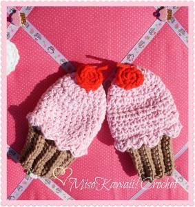 baby mittens crochet