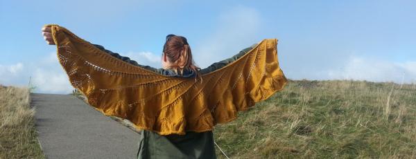 Begonia Swirl - tricot chale-9