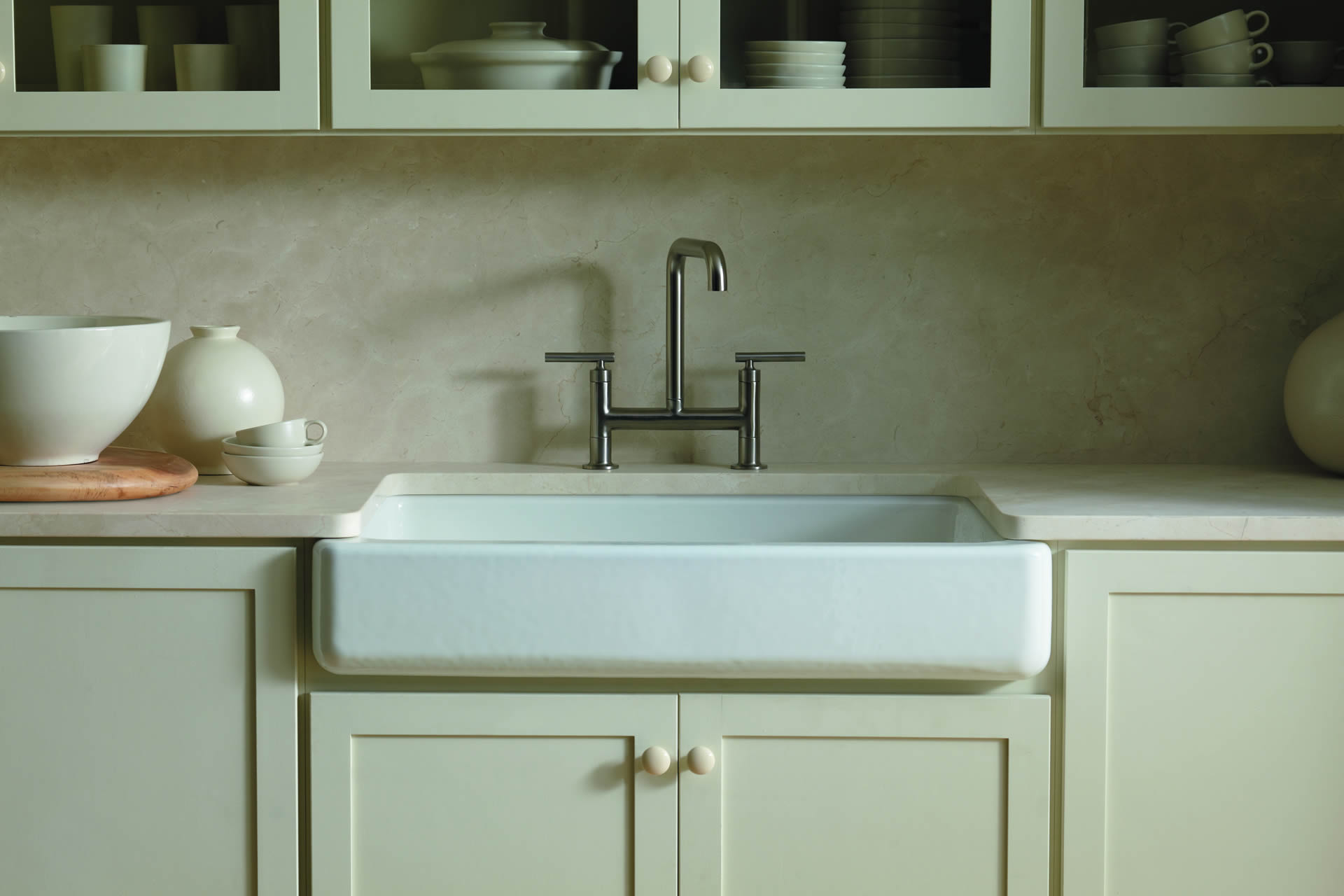 Kohler Whitehaven Farmhouse Sink Accessories Kitchen Sinks Store Wool Kitchen And Bath Store