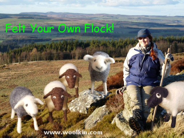 Come learn how to Felt Your Own Flock!