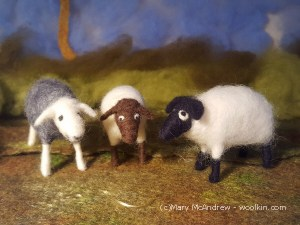 Needle Felted Sheep Class- May 11th 10am-12:30