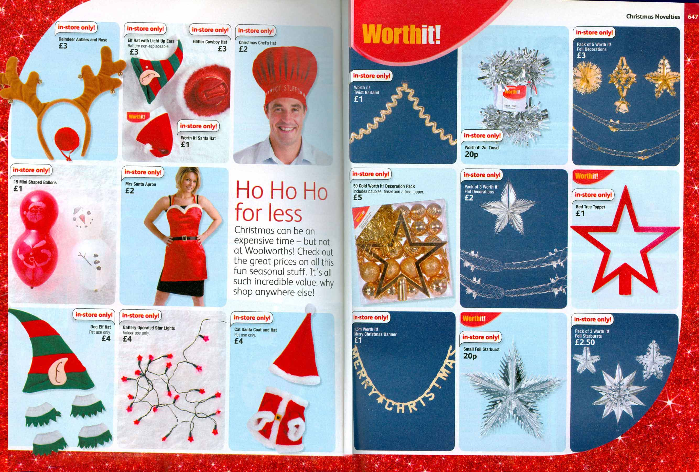 Big W Toys Catalogue Xmas Decorations At F W Woolworth