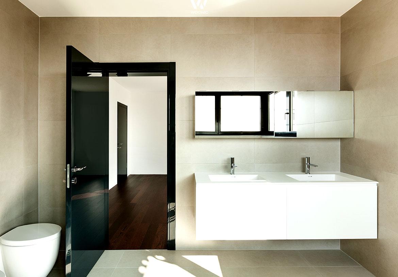Wand Badezimmer | Badezimmer Wand Gestalten Bad Mit Akzentwand Gestalten