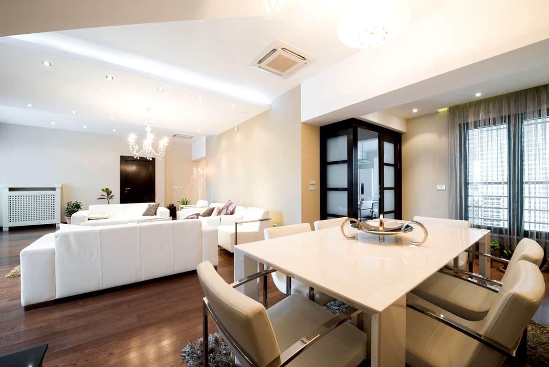 Wohnungseinrichtung Ideen Gunstig Bodenbelag Kuche Modern Frisch