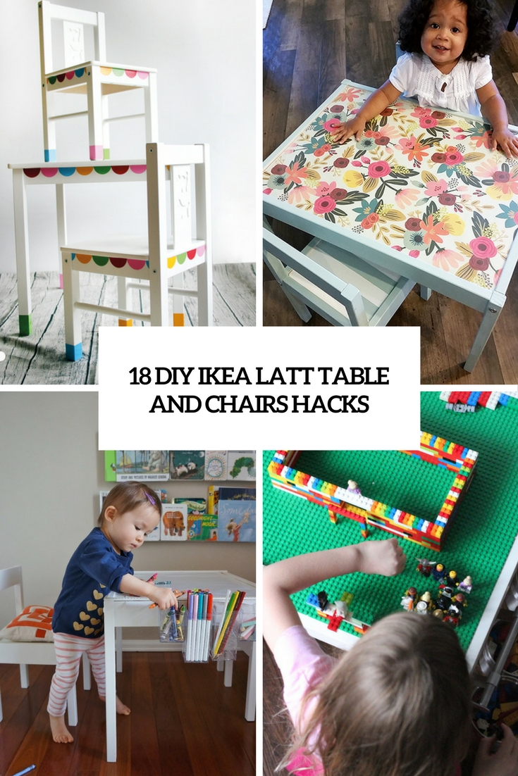 Holztisch Groß 18 Diy Ikea Latt Table And Chairs Hacks - Wohnidee By Woonio