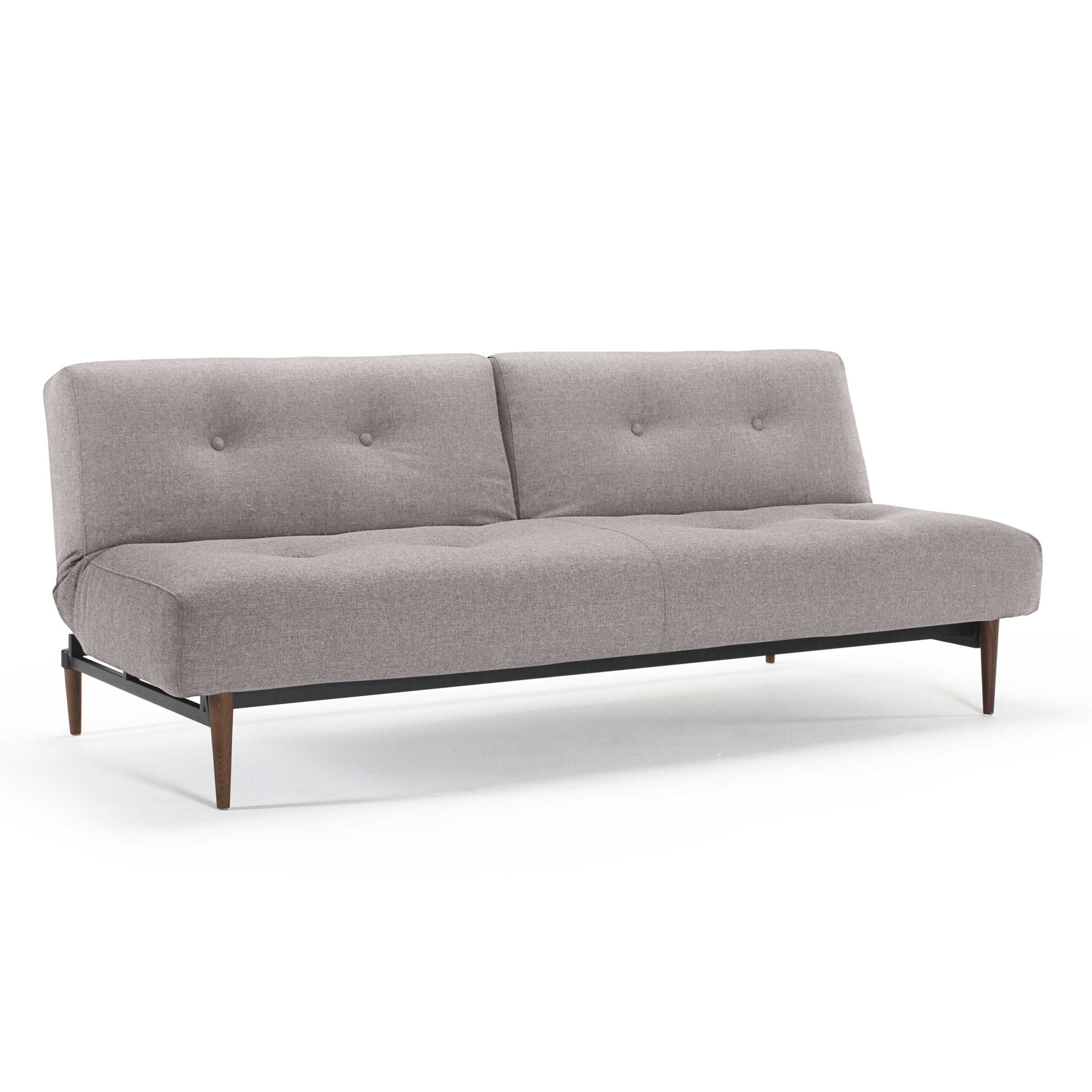 Innovation Schlafsofa Innovation Schlafsofa Buri Styletto Dunkel Grau Stoff