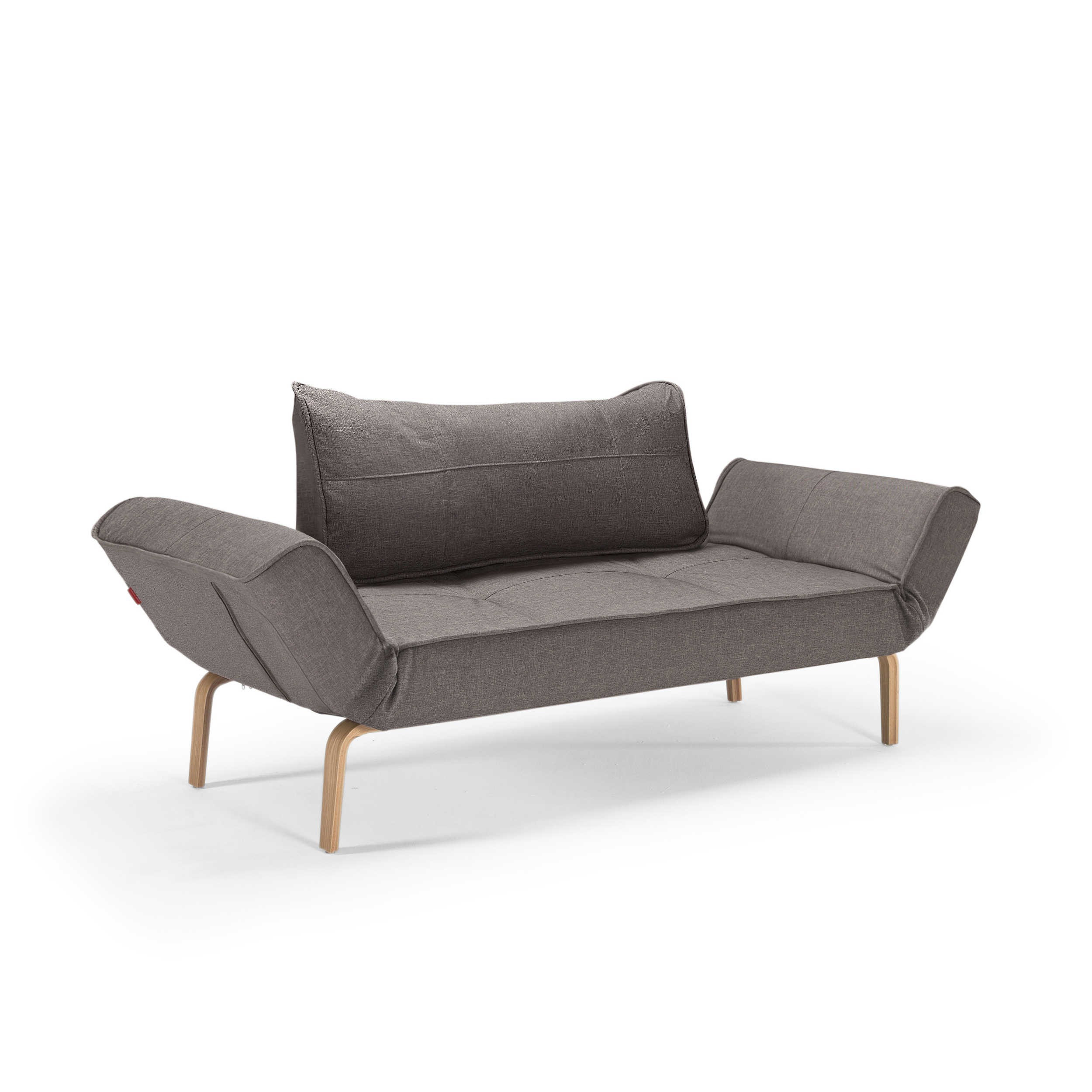 Innovation Schlafsofa Innovation Schlafsofa Zeal Bow Anthrazit Stoff Online