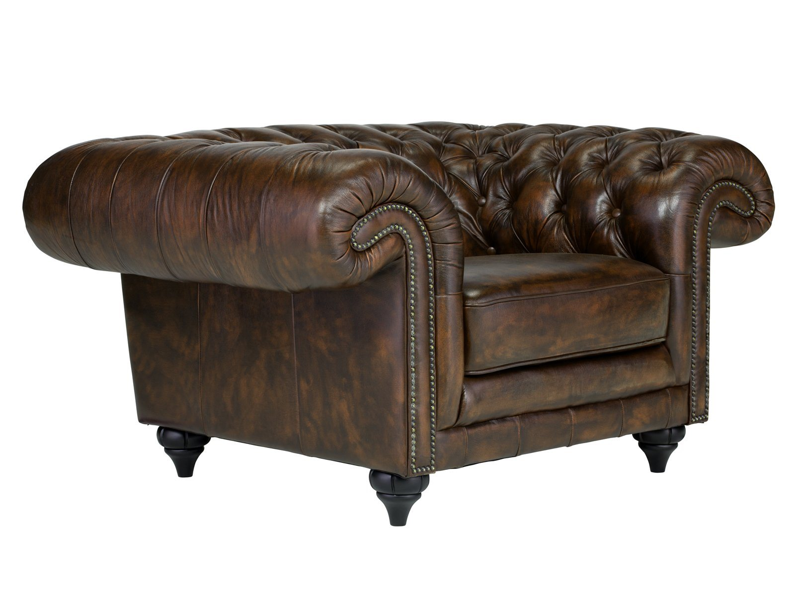 Massivum Sessel Massivum Sessel Aus Echtleder Chesterfield Clifton