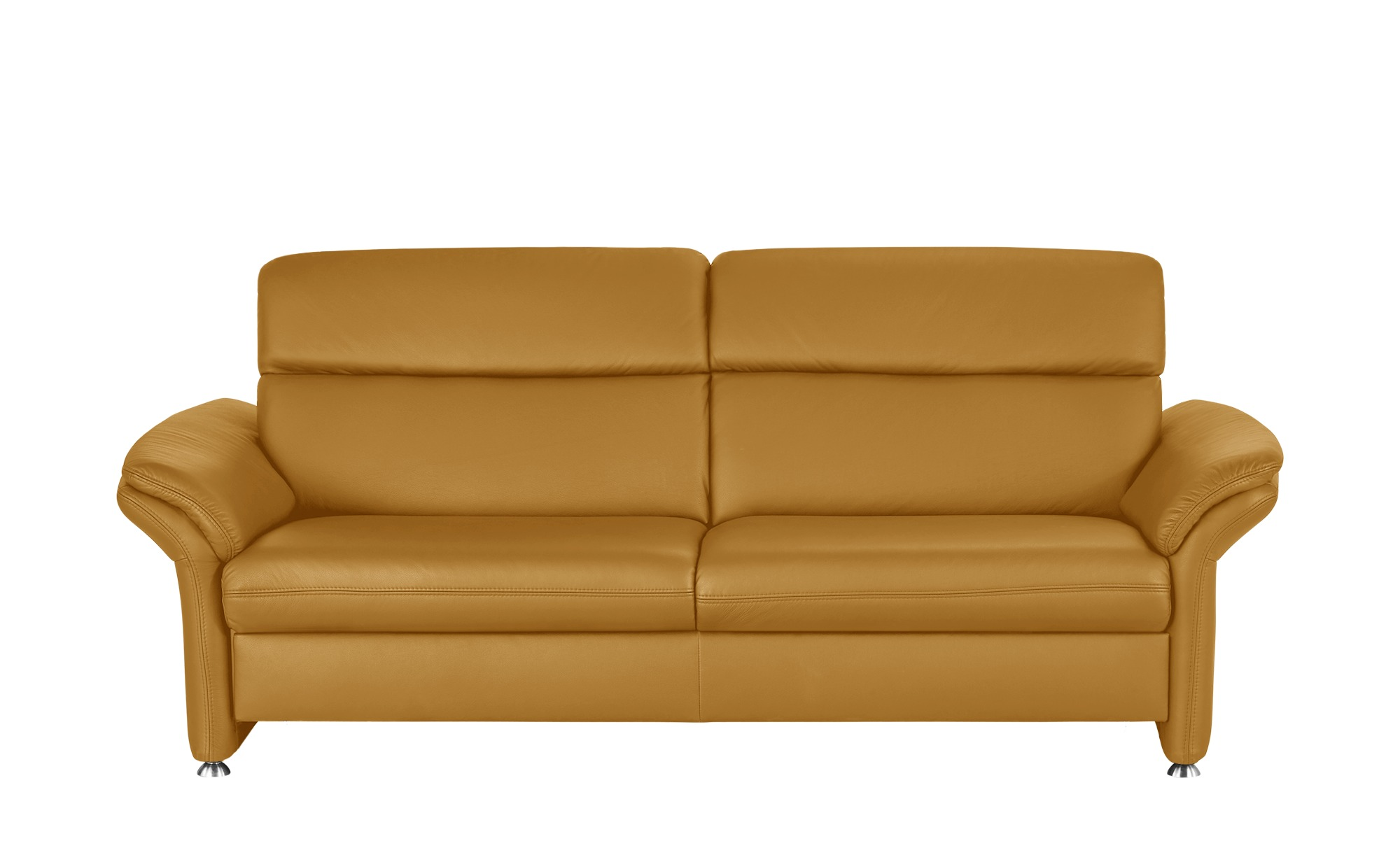 Ledersofa Gelb Couch Sessel Gelb