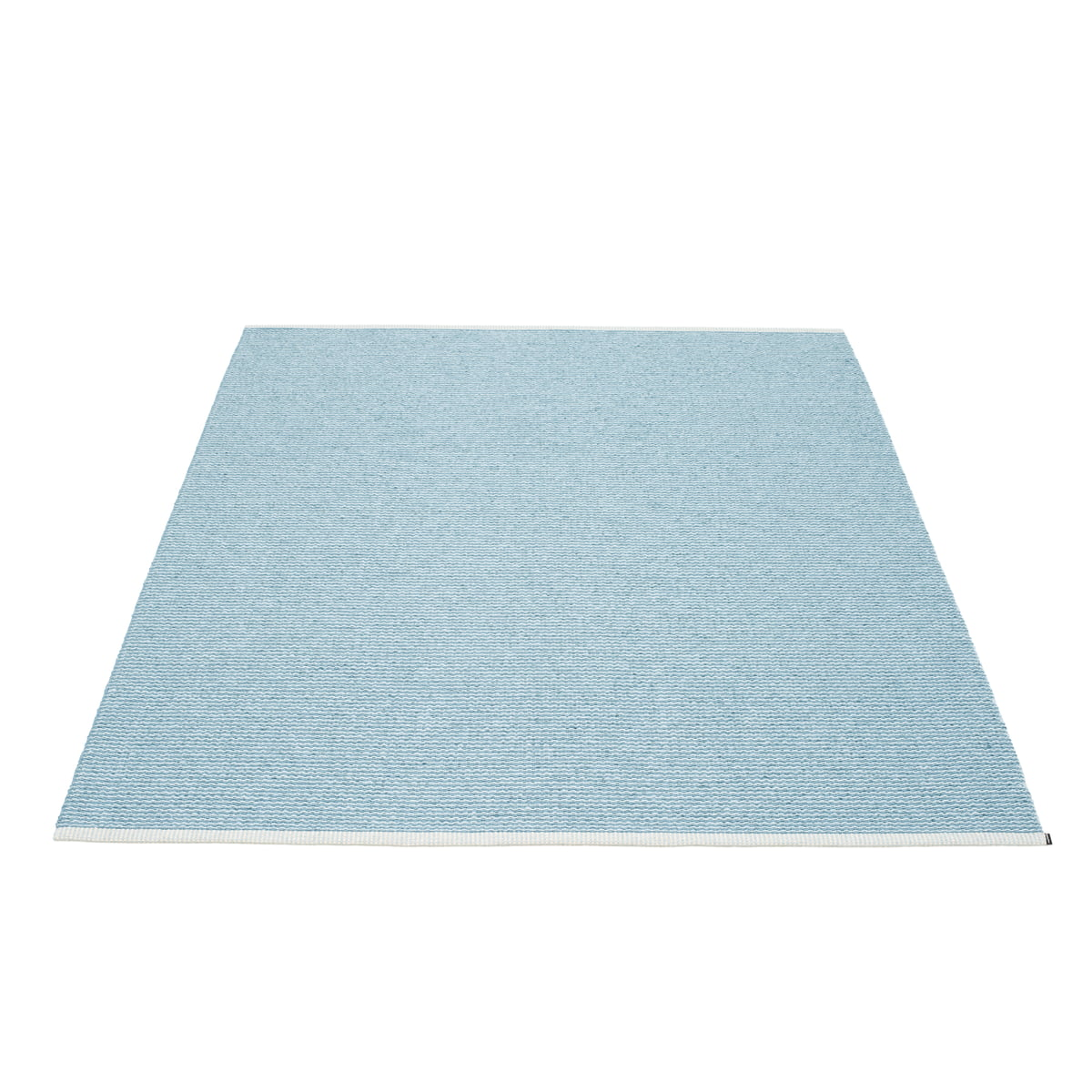 Teppich Pappelina Pappelina Mono Teppich 180 X 220 Cm Misty Blue Ice