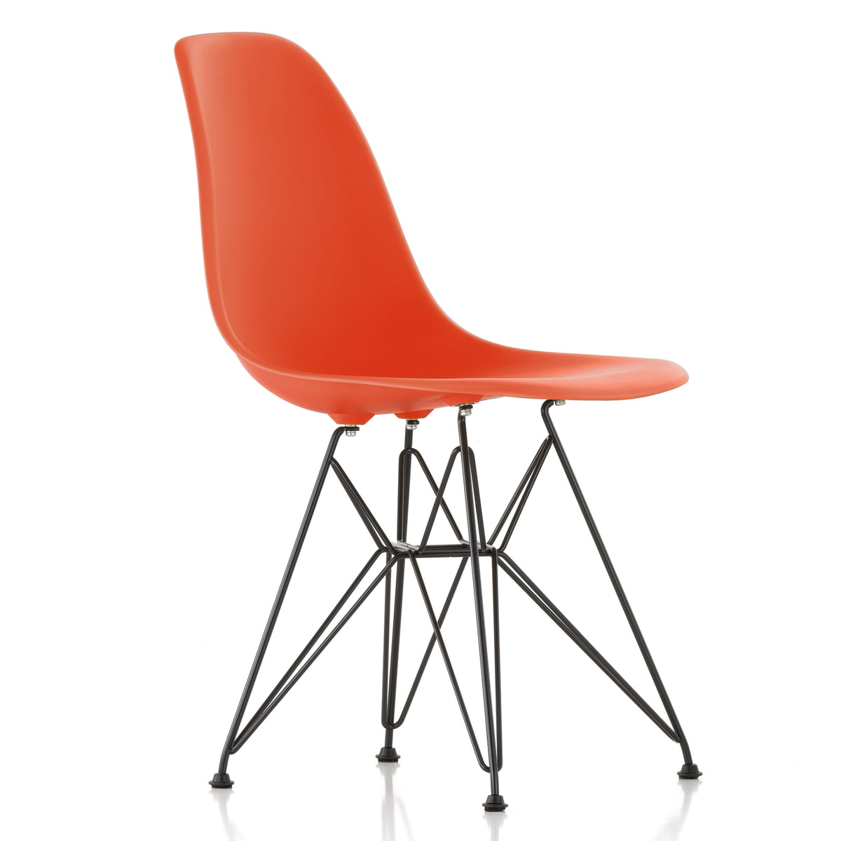Eames Chair Sitzkissen Vitra - Eames Plastic Side Chair Dsr (h 43 Cm