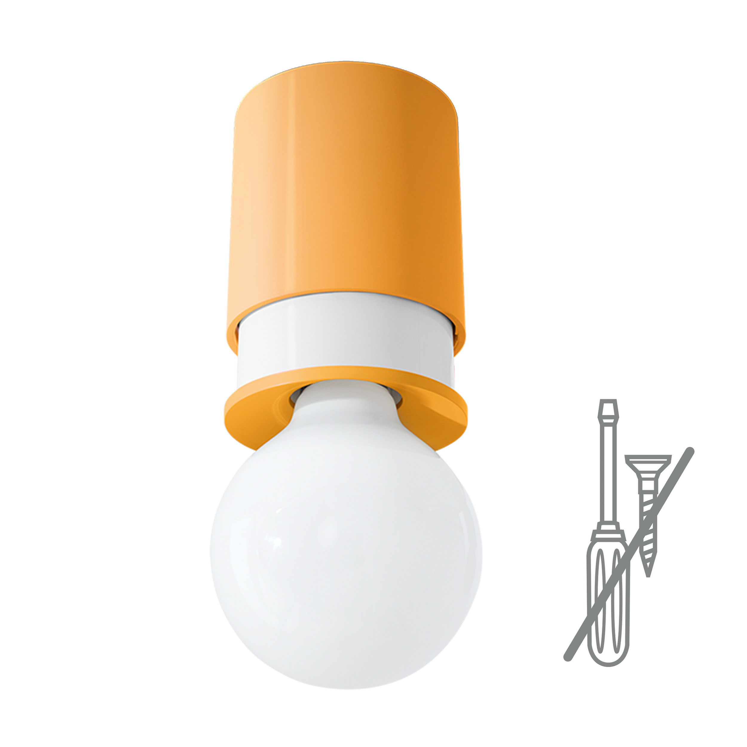 Twister Bettwäsche Twister Lighting Deckenleuchte Orange A048799 008