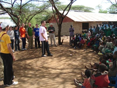 Village school outreach
