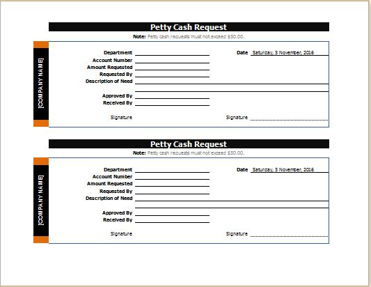 cash request slip form - vheo - petty cash request form