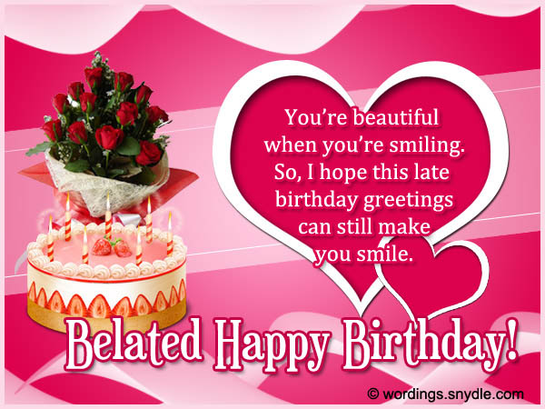 Cute Roses Wallpapers With Wordings Belated Birthday Wishes Messages And Card Wordings