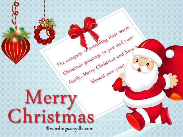 Christmas Messages for Employees - Wordings and Messages - holiday greeting message