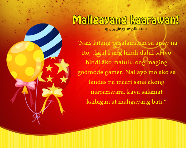 The 25+ best Birthday message tagalog ideas on Pinterest Happy - family reunion invitation cards
