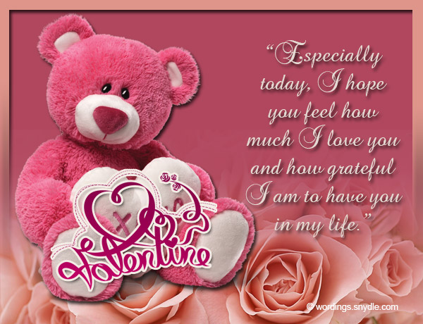 Valentines Messages for Girlfriend - Wordings and Messages - valentines cards words