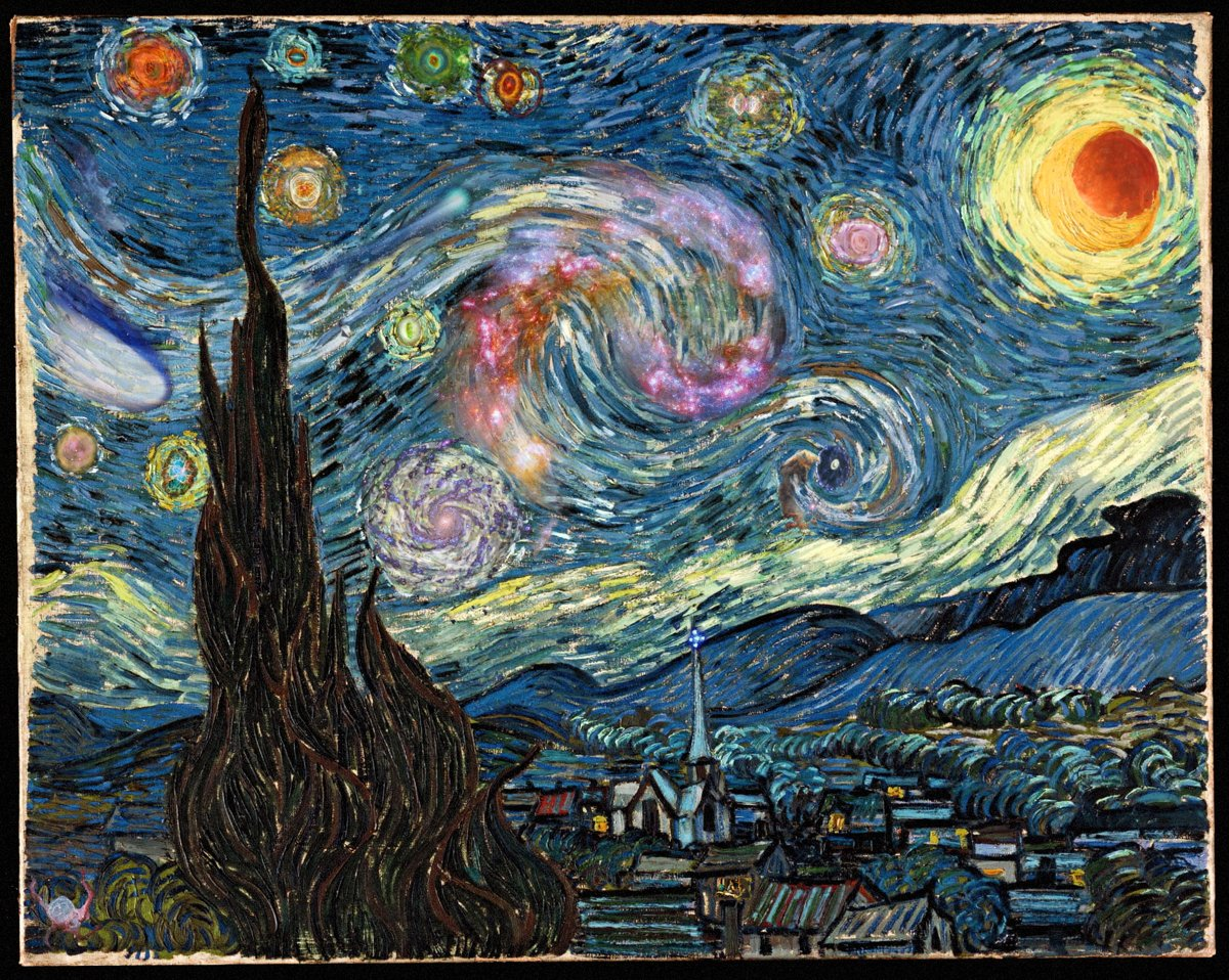 Cuadros De Vango Starry Night Archives Wordlesstech