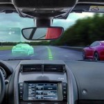 Jaguar's Virtual Windscreen concept