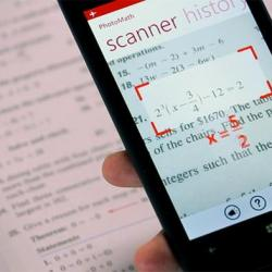 PhotoMath App calculates Equations