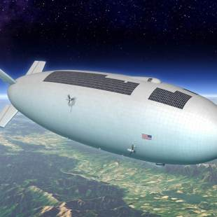 NASA's high-altitude airship for scientific and commercial uses