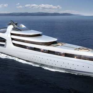 Admiral X Force 145 super-yacht
