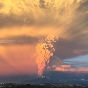 The unbelievable Volcanic Eruption In Chile