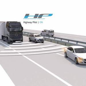 An Autonomous Truck hits the highway