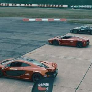 Hypercar Trio: accelerating from 0 – 300 kph