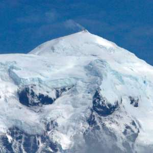 Witnessing an sub-Antarctic Volcano Erupting
